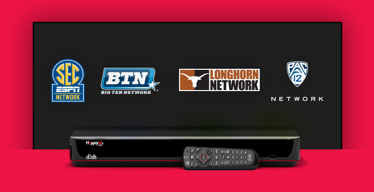DISH College Sports TV Packages - HUNTINGTON PARK, California - PT SATELLITES INC - DISH Authorized Retailer